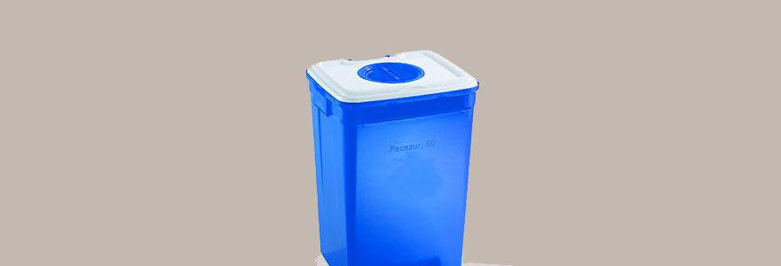 conteneurs pour déchets médicaux